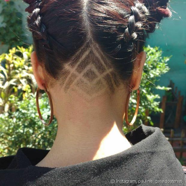 O undercut é uma ótima maneira de alterar um pouco o visual do cabelo de forma discreta, porém muito ousada