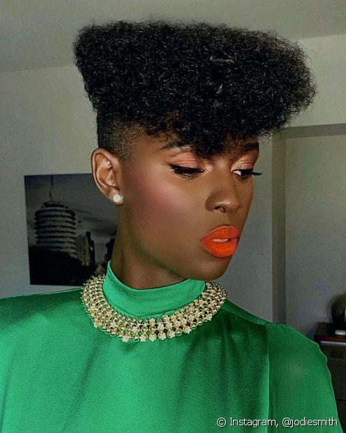 O pixie cut tem inúmera variações para combinar com o seu estilo da melhor forma (Foto: Instagram, @jodiesmith)
