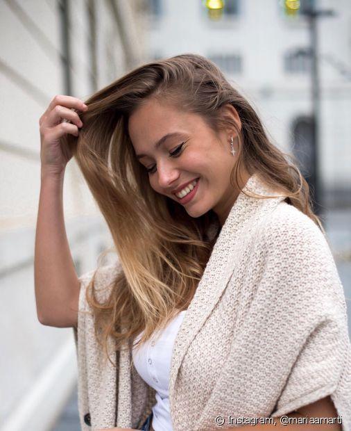 Sabe por que seu cabelo precisa de hidratação? Descubra com as dicas do Fique Diva! (Foto: Instagram, @mariaamarti)