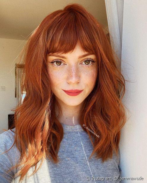 Veja algumas dicas infalíveis para escolher as cores de cabelo que mais combinam com você! (Foto: Instagram, @_jemmawade)