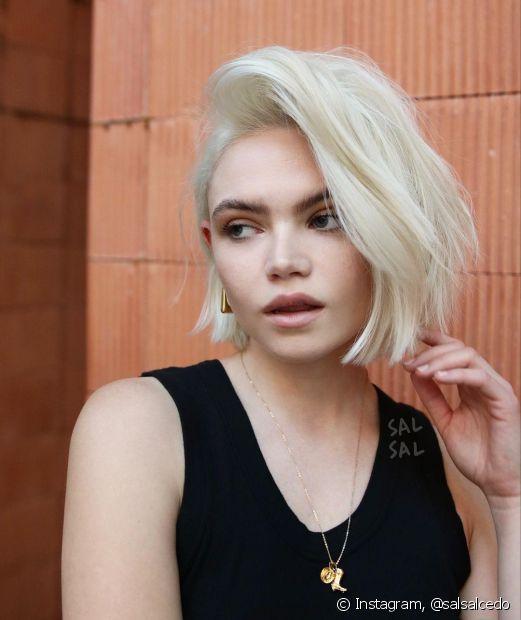 O cabelo chanel faz o maior sucesso entre a mulherada há décadas: vem conhecer as variações do visual aqui! (Foto: Instagram @salsalcedo)