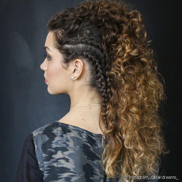 Às vezes queremos variar o visual e os penteados são a melhor solução para sair da rotina, principalmente em dias de festa