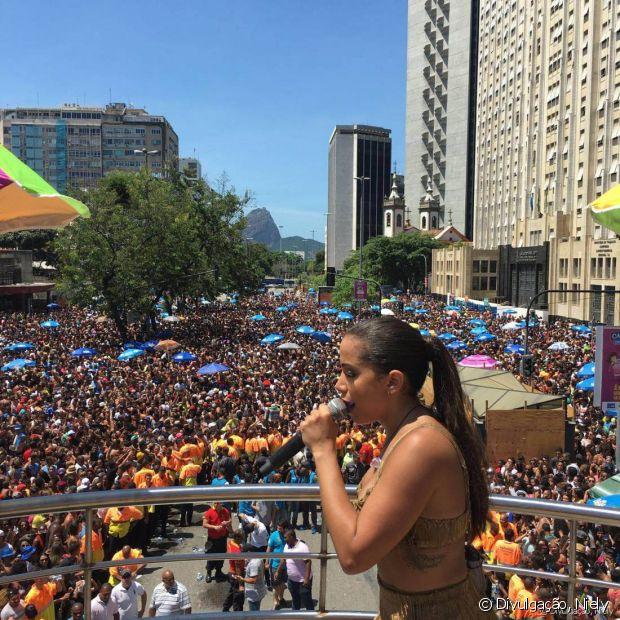 Desfile do Bloco das Poderosas recebeu mais de 180 mil pessoas!