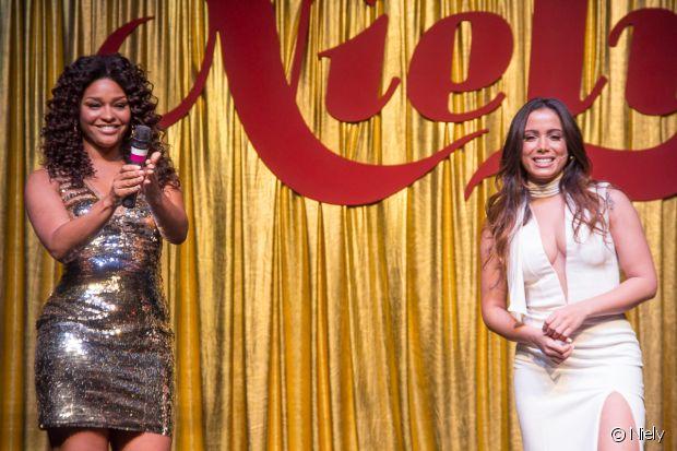 Anitta e Juliana Alves são apresentadas como novas embaixadoras da Niely