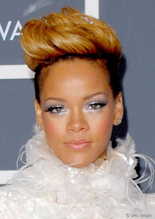 Entre os cortes de Rihanna, o undercut também está na lisa dos seus preferidos