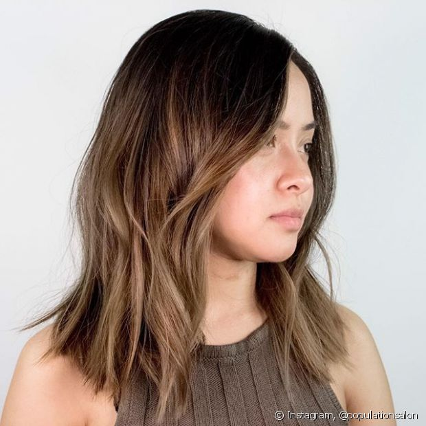 Ombré hair loiro deixa o efeito muito sutil, sem marcações de mechas