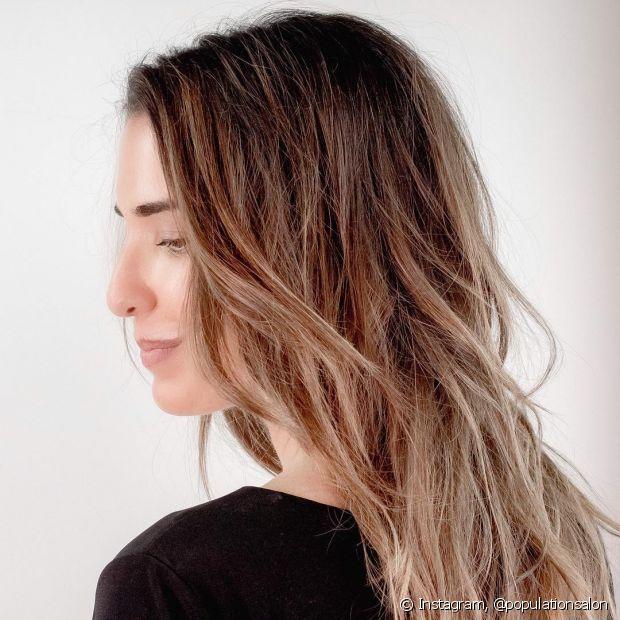Ombré hair loiro pode ser feito até em fios mais escuros