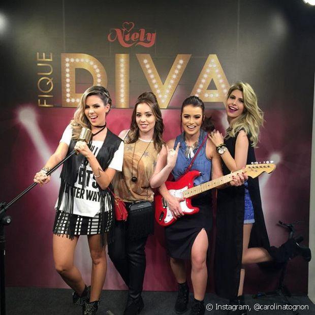 Esse é o Time de Divas da Niely em nosso stand no Rock in Rio!