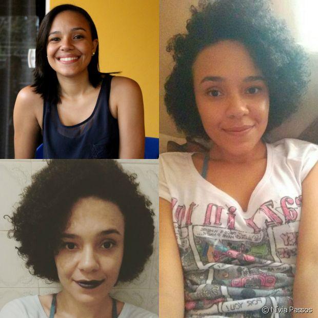 A descoberta do seu cabelo afro que estava esquecido nos últimos anos significa também identidade, autoestima recuperada, aceitação e uma nova vida