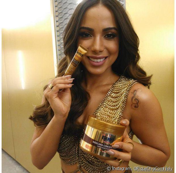 Anitta é nossa embaixadora Niely Gold Chocolate