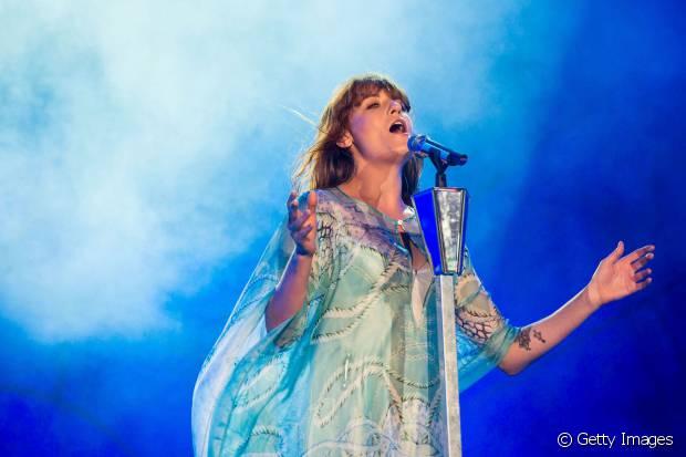 A cantora Florence era uma das atrações mais esperadas no Rock in Rio de 2013