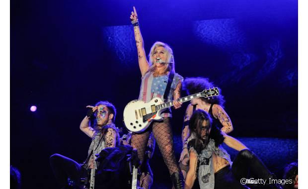 A cantora do hit 'Tik Tok', Kesha, animou a plateia fã de pop music no Rock in Rio de 2011