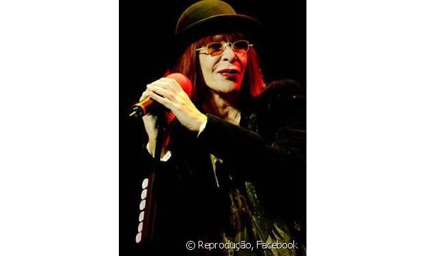 A cantora Rita Lee era uma das atrações principais da primeira edição do Rock in Rio, em 1985