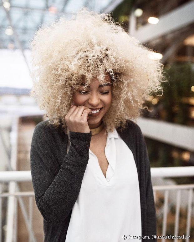 A nuance fica linda em todos os tipos de cabelo
