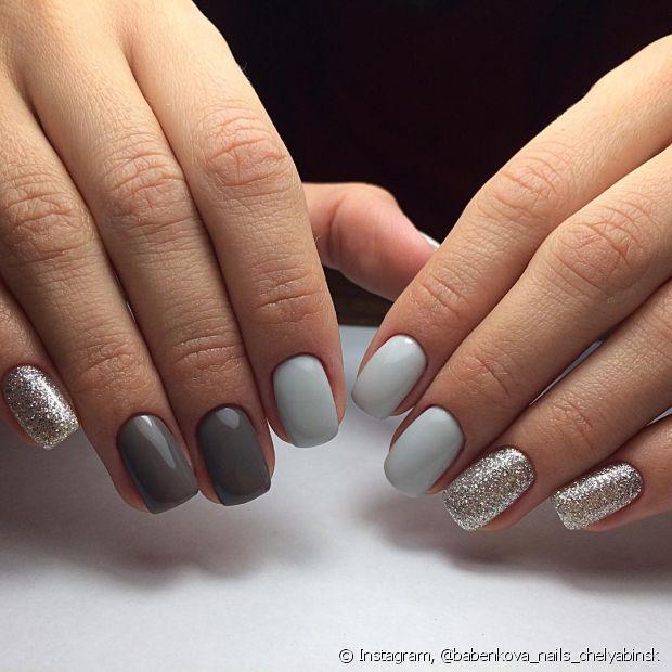 Para ficar ainda mais criativo, não precia de ordem na hora de estilizar as unhas! Muita criatividade nessa hora
