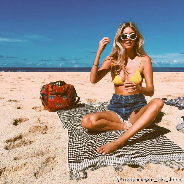 Pele bronzeada, roupas leves, praia, piscina... O verão é uma ótima época, mas também deixa o cabelo danificado por conta do sol, cloro e aguá salgada