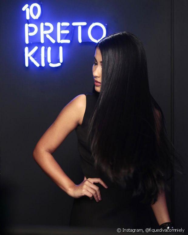 Pega essa jogada de cabelo da Thaynara OG. KIU!