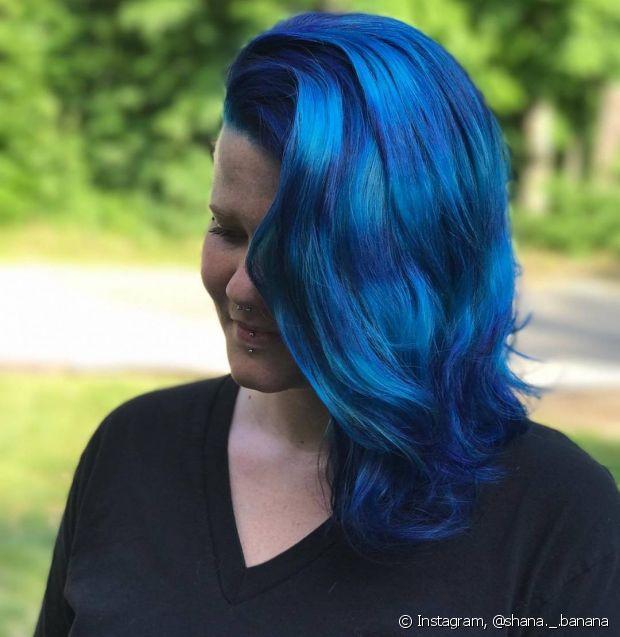 O cabelo oceano faz muito sucesso nas redes sociais e fora delas!