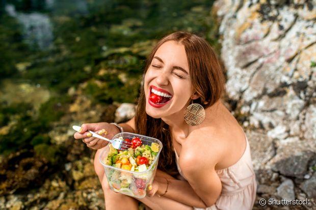 Com o início da prática de exercícios, você pode começar a investir em uma alimentação mais saudável