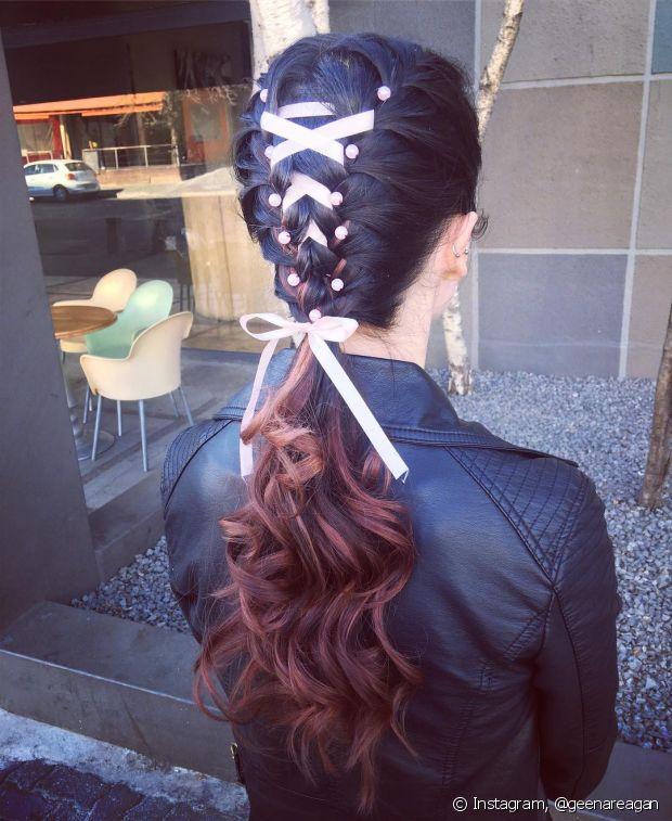 Inove a hora de criar os seus penteados. Você vai arrasar!