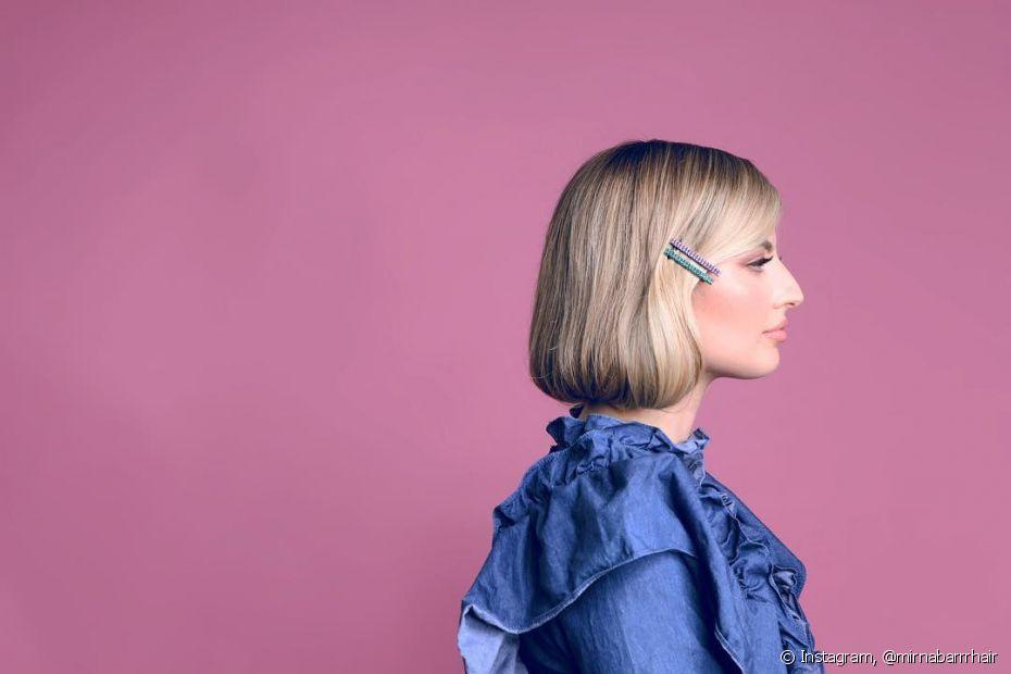 Estilizar o penteado com grampos e acessórios coloridos é uma ótima técnica de deixá-lo mais divertido e natural
