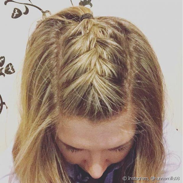 O mais legal é que, como são feitas somente na raiz do cabelo, você pode usá-la com qualquer tipo de penteado, seja com os fios soltos, um rabo de cavalo ou coque