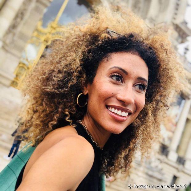 O tonalizante para cabelos loiros também pode ser usado para escurecer as luzes em até 2 tons (Foto Instagram: elainewelteroth)