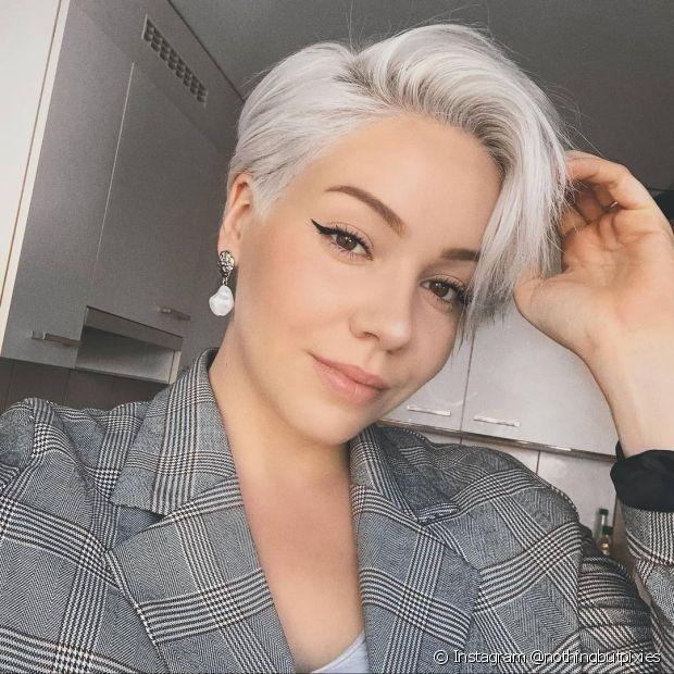 O pixie hair confere muita elegeância (Instagram @nothingbutpixies)