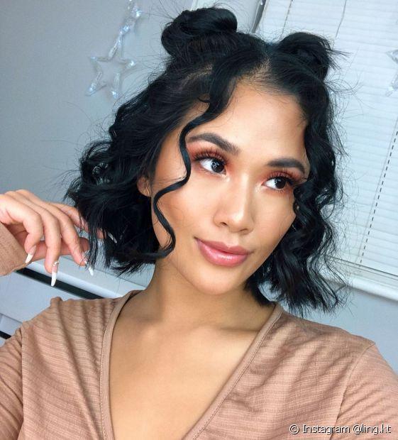 Quer adotar um estilo charmoso? Aposte em um corte de cabelo curto (Instagram @ling.kt)