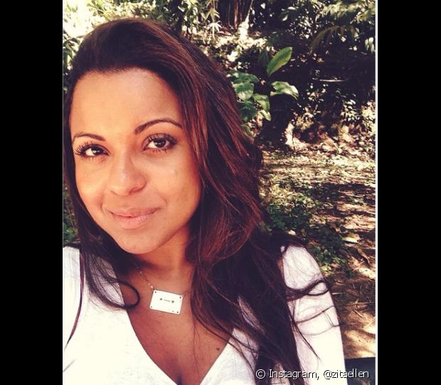 Ellen Rodrigues (@zitaellen) ficou mais de 10 anos com alisamento nos fios