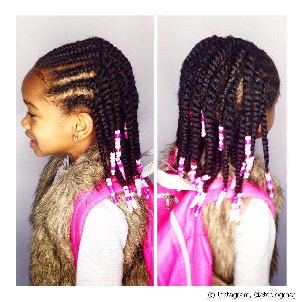 Os penteados com trancinhas nunca saem de moda