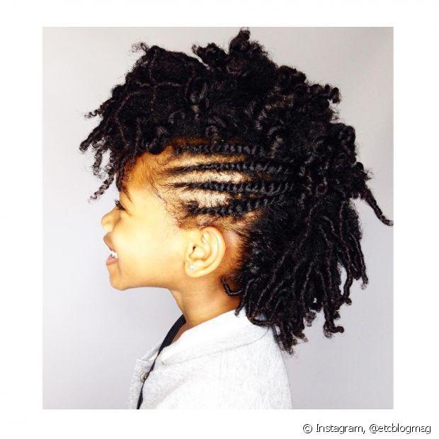 Trancinhas se usadas junto a outros penteados dão um ar muito estiloso
