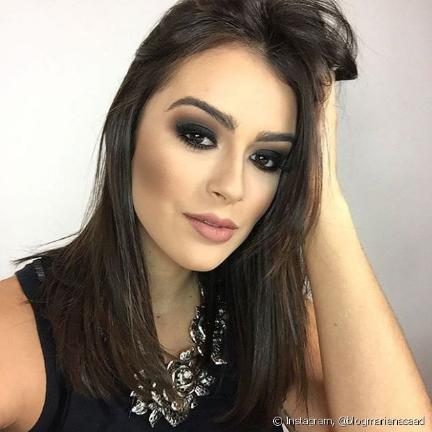Mariana Saad conta o que faz no bad hair day: 'Coque desarrumado'