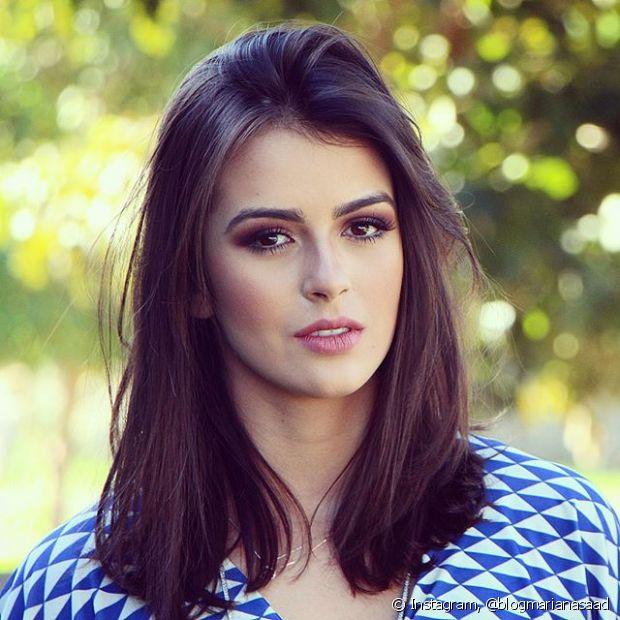 Mariana Saad diz que maquiagem a faz se sentir uma diva