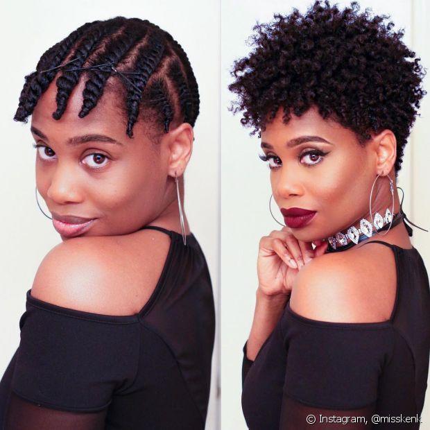 Os twists são uma ótima opção para texturizar o cabelo sem a ajuda de acessórios