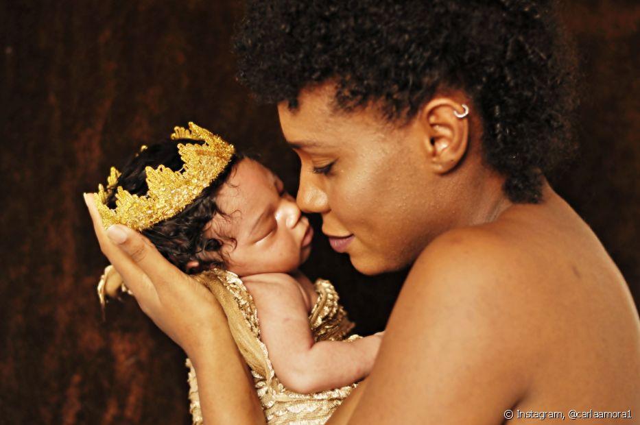 Para Ana Carla Santos, a maternidade foi uma das melhores coisas que aconteceu na sua vida