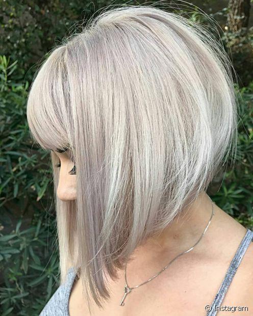 O corte de cabelo chanel de bico é contempoâneo e versátil  (Foto: Instagram @bobbedhaircuts)