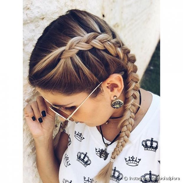 As boxer braids (tranças de boxeadora) estão fazendo sucesso entre as famosas e as fashionistas!