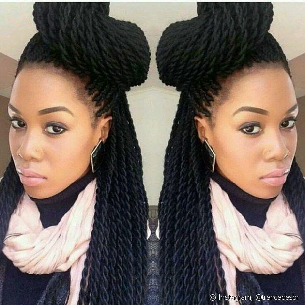 Também é possível investir em penteados descolados e supercriativos para variar o look