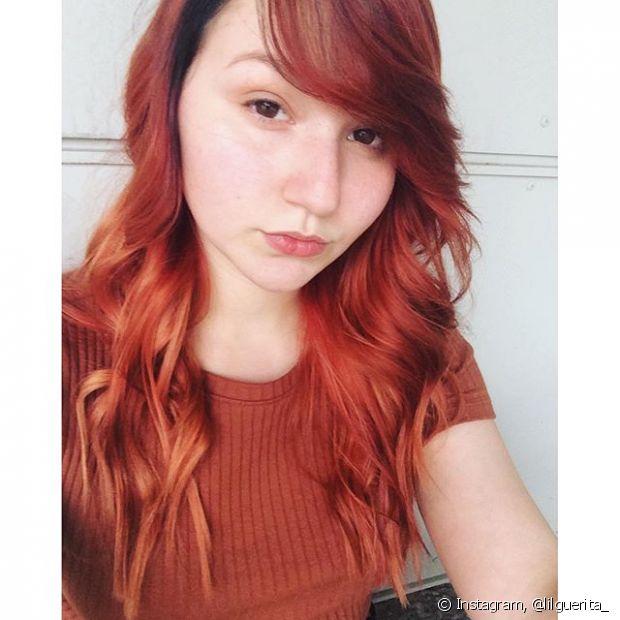 Quem tem cabelo castanho claro e loiro, a mudança com o tonalizante pode ser radical. Sabe aquele vermelho cereja que você tanto quis? É só escolher a nuance correta para alcançar a tonalidade e arrasar!