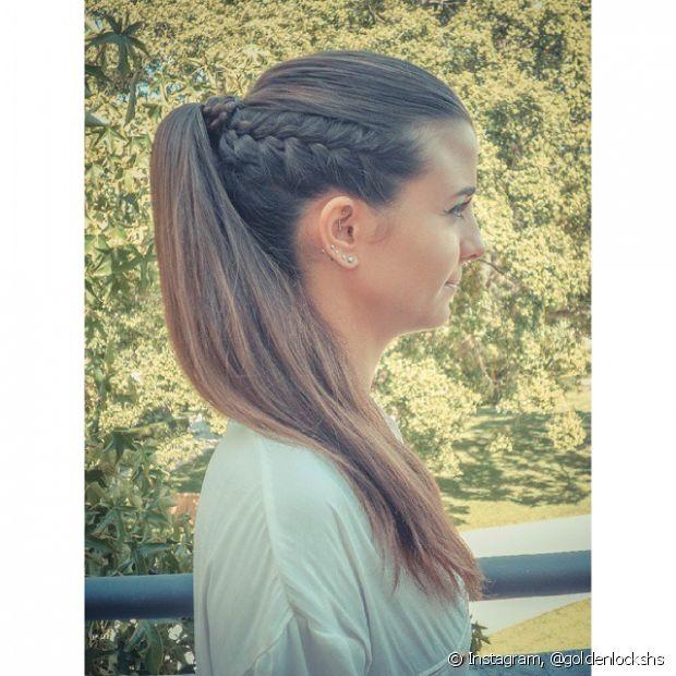 Tranças de raiz sempre dão um visual moderno ao penteado