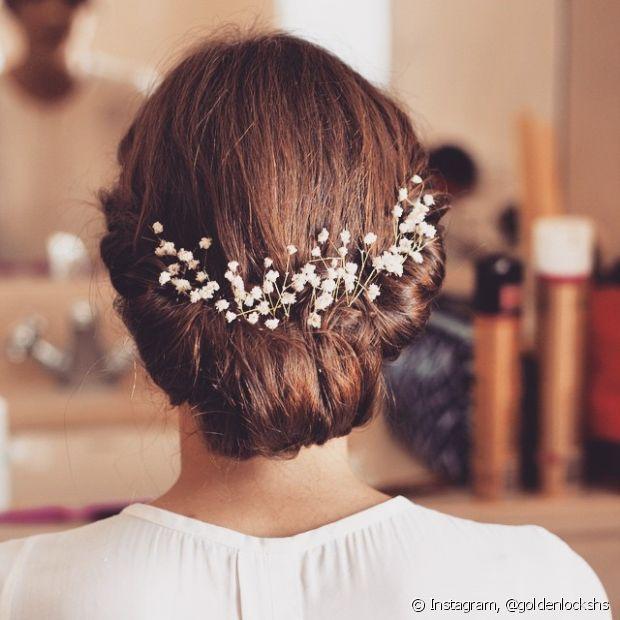 As noivas com um estilo mais formal costumam ter gosto por penteados presos e bem polidos, que inspirem compromisso e tradição
