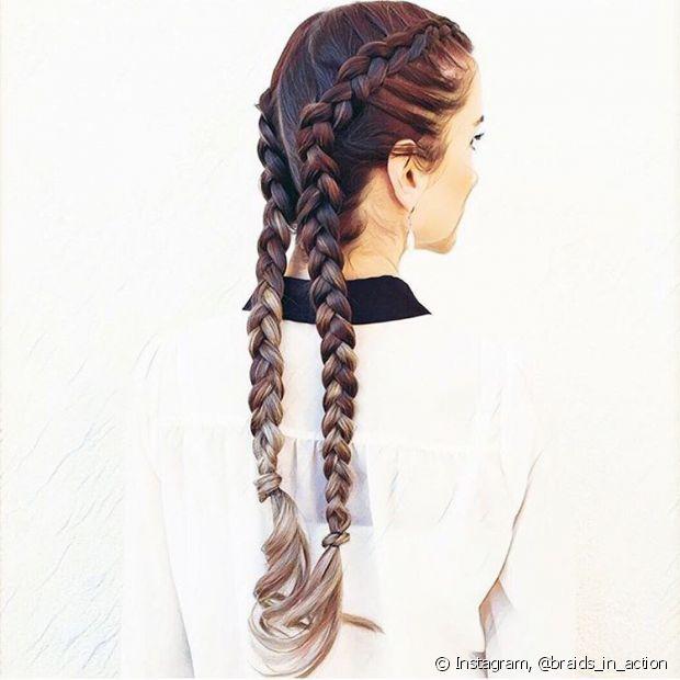 As box braids são estilosas e charmosas. Combine-as com uma boa make que você irá arrasar no seu evento