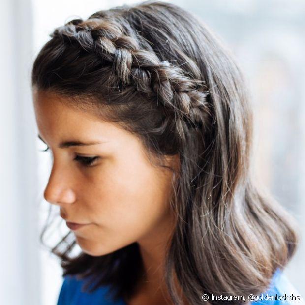 Penteados para formatura para cabelos soltos  5 ideias para você ... beefbe31a06