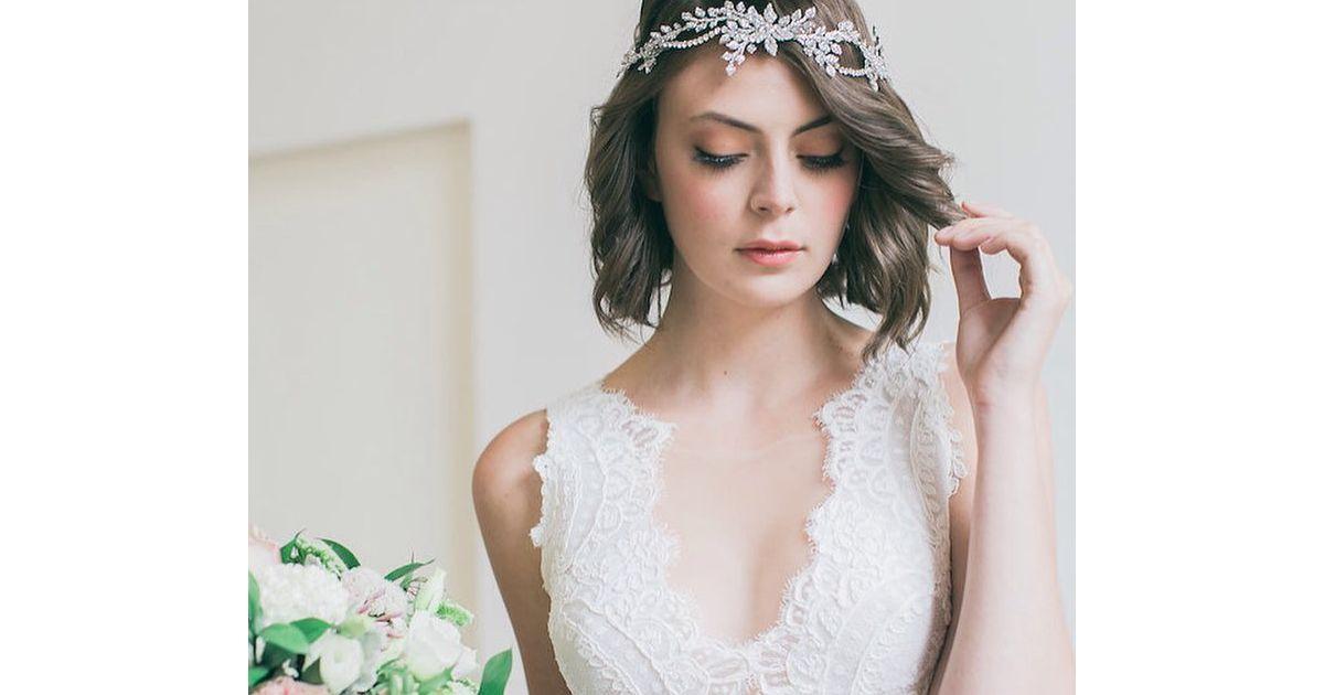Penteados Para Noivas De Cabelos Curtos Veja 10 Fotos Com