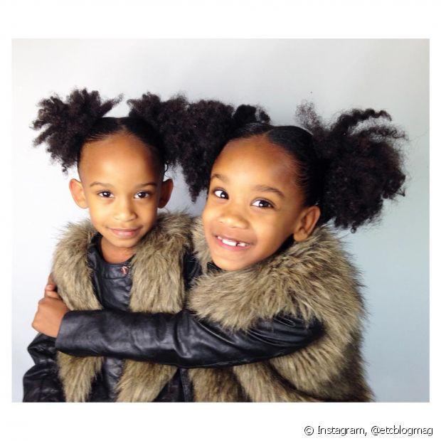 Nada melhor do que ter muitos penteados para variar durante o dia a dia da criança, seja para ir para a escola ou para uma festa de família