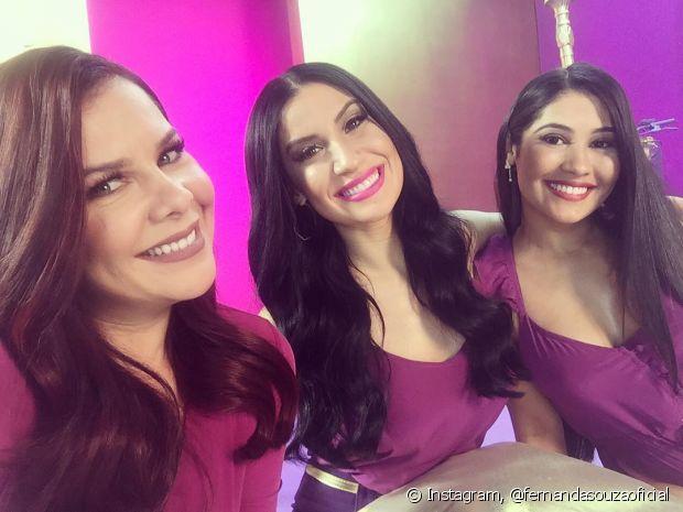 Fernanda Souza também faz parte da campanha de Mega Brilho, junto com Bianca Andrade e Thaynara OG