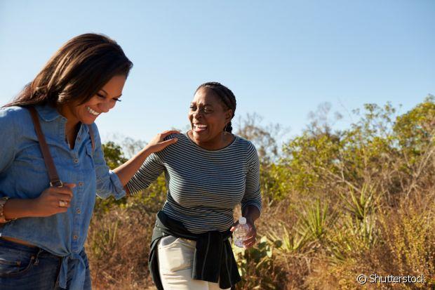 Faça uma pequena viagem com a sua mãe, para momentos de muita alegria e diversão