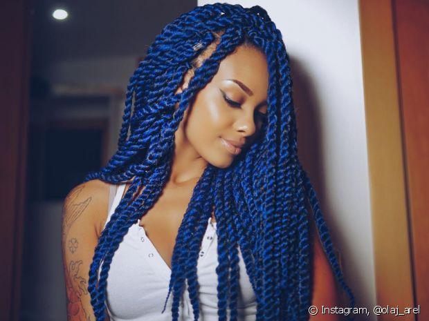 Para quem tem cabelos crespos, os Marley twists - ou trança twist - são um jeito muito estiloso de mudar o visual