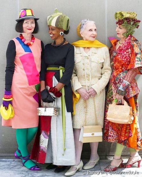 'Advanced Style' mostra os estilos ecléticos de novayorkinas com mais de 60 anos de idade, que usam a moda para envelhecerem com leveza